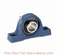 3/4 in x 3-3/8 to 4-3/16 in x 1 in  Dodge P2BLTB10012 Pillow Block Plain Sleeve Bearing Units