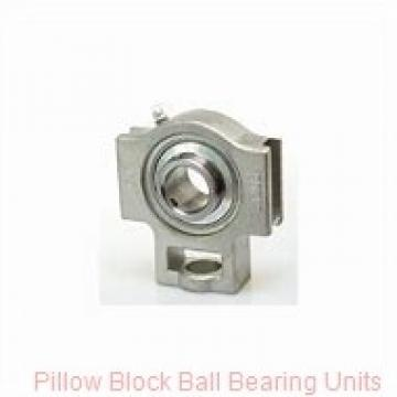 0.7500 in x 3 in x 1.02 in  Dodge P2BSL012 Pillow Block Ball Bearing Units
