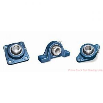 55 mm x 162.1 to 189 mm x 2-3/16 in  Dodge P2BSC55M Pillow Block Ball Bearing Units