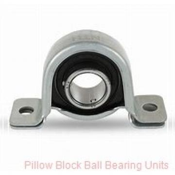 0.7500 in x 3.38 to 4.19 in x 1.55 in  Dodge P2BSXRB012 Pillow Block Ball Bearing Units