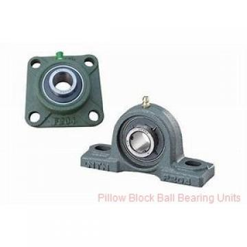 2.4375 in x 6.88 to 7.94 in x 2-9/16 in  Dodge P2BSC207 Pillow Block Ball Bearing Units
