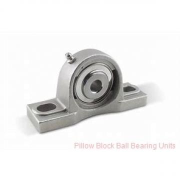 0.6250 in x 3-1/4 to 4.06 in x 1-15/32 in  Dodge P2BSXRU010 Pillow Block Ball Bearing Units