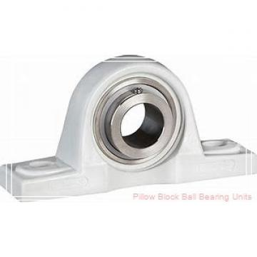 1.4375 in x 4.68 to 5.44 in x 1.53 in  Dodge P2BSXV107 Pillow Block Ball Bearing Units