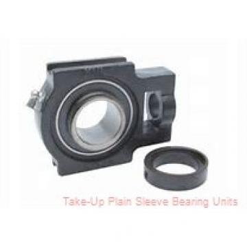 Dodge WSTU-LT7-25M Take-Up Plain Sleeve Bearing Units