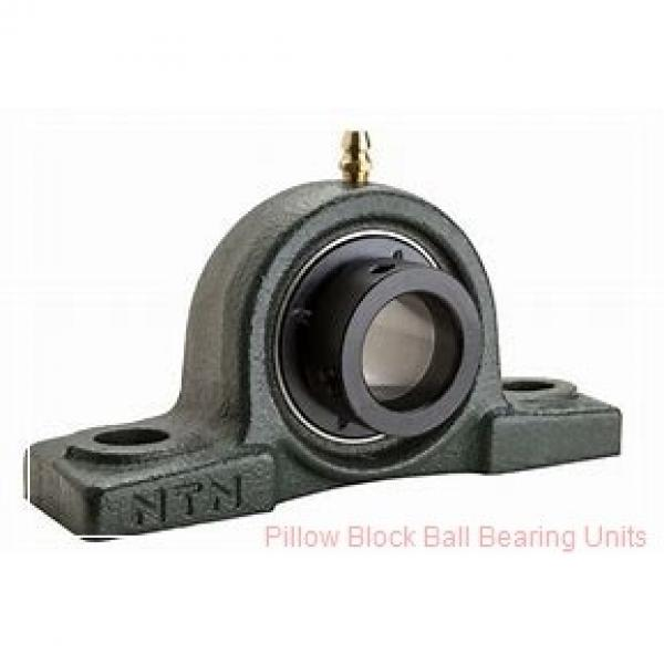 1.4375 in x 4.68 to 5.44 in x 1.71 in  Dodge P2BVSCB107 Pillow Block Ball Bearing Units #1 image
