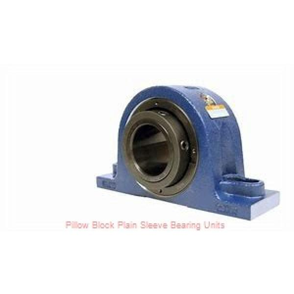 2 in x 6 to 6-11/16 in x 1-5/8 in  Dodge P2BLTB10200 Pillow Block Plain Sleeve Bearing Units #1 image